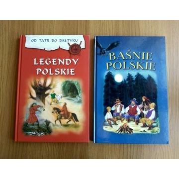 Baśnie polskie, Legendy polskie - 2 książki Skrzat