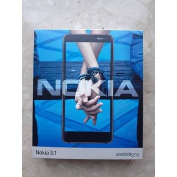 Smartfon Nokia 3.1 5.2'' HD, 13MP cam, 2990 mAh