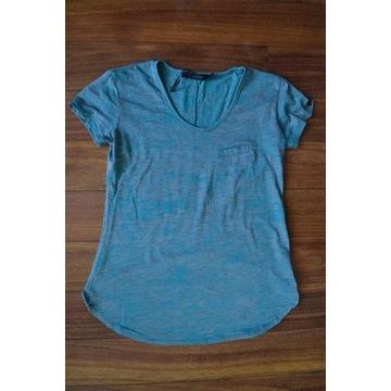 CALVIN KLEIN T-Shirt Damski Koszulka Bluzka XS