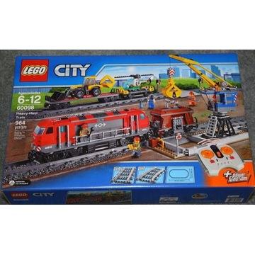LEGO City 60098 - Pociąg towarowy NOWY