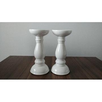 Świecznik ceramiczny 21 cm