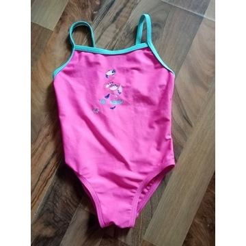 Strój kąpielowy z decathlon różowy rozmiar 104