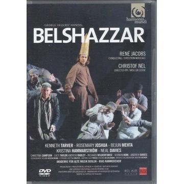 HANDEL Belshazzar RENE JACOBS 2DVD UNIKAT