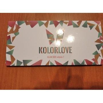 Nowa paleta Kolorlove Glam BOX edycja 7