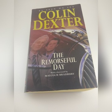 The Remorseful Day Colin Dexter kryminał ang