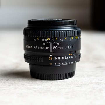 Nikon AF Nikkor 50mm 1.8D