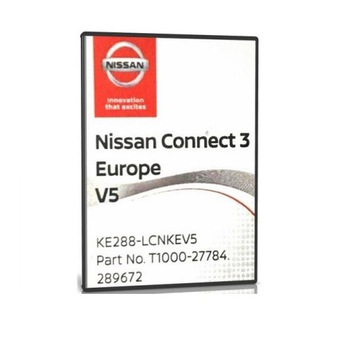Nissan Connect 3 v5 Europe 2020 LCN3 QUASHQAI Note