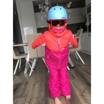 Komplet narciarski dla dziewczynki 5 lat