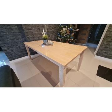 Stół  drewniany prowansalski biały