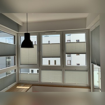 Plisy okienne, rolety plisowane - na wymiar