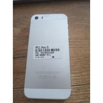 iPhone 5s / 16 GB biały - stan jak nowy!