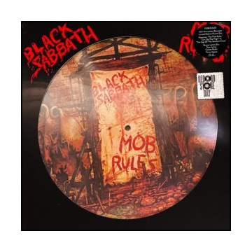 BLACK SABBATH Mob Rules Picture Disc RSD 2021