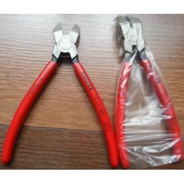 KNIPEX 72 11 160 szczypce tnące do plastiku ołowiu