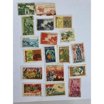 Stare znaczki wietnam  vietman
