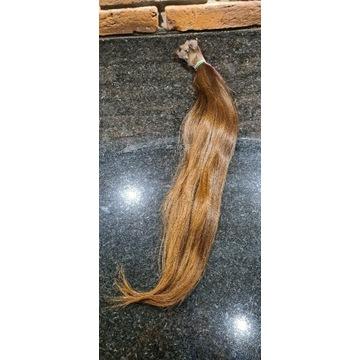 Włosy dziewicze (kolor #5) 47-50cm 91gr