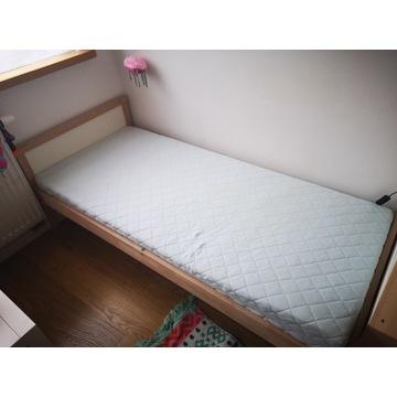 Łóżko dziecięce Ikea Sniglar 70x160 z materacem