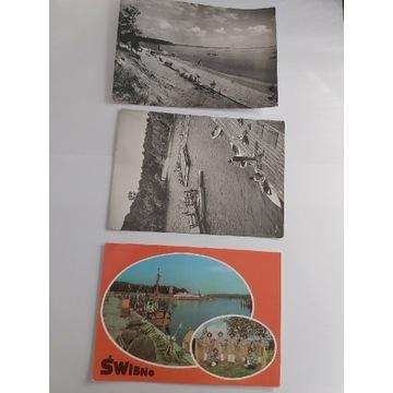 Stare pocztówki Turawa Świbno