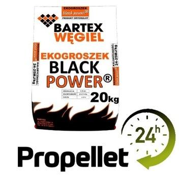 Ekogroszek Black Power 1000kg Propellet24 Opole
