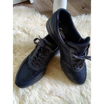 Sneakersy skóra naturalna Gabor 4,5  38