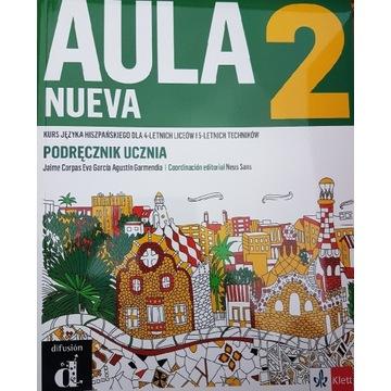 Aula Nueva 2 - Podręcznik i Zeszyt Ćwiczeń NOWE