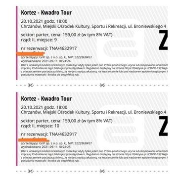 Bilety na koncert Kortez 50% taniej.