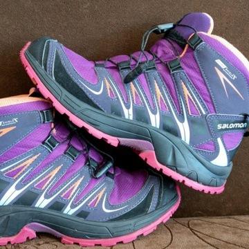 Buty trekingowe Salomon 35 21.5 cm - jak NOWE