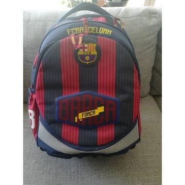 Ergonomiczny lekki plecak FC Barcelona. Jak nowy.