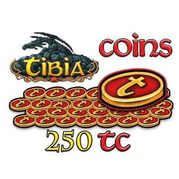TIBIA COINS TC 250 KAZDY SWIAT