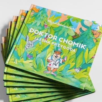 """""""Doktor Chomik"""" bajka dla dzieci"""