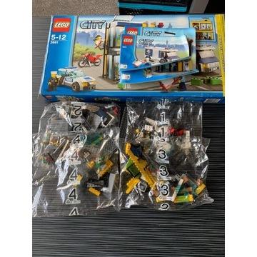 Zestaw LEGO LEGO: 3661 City Bank UNIKAT!