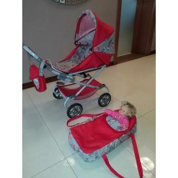 Wózek dla lalek 3w1 duży