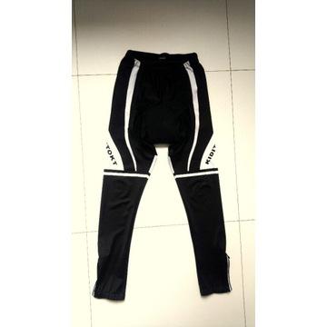 Spodnie kolarskie długie, roz. M/L