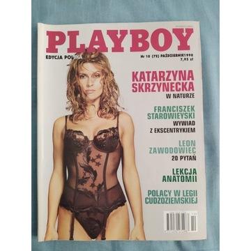 PLAYBOY 10(72)1998 Kasia Skrzynecka