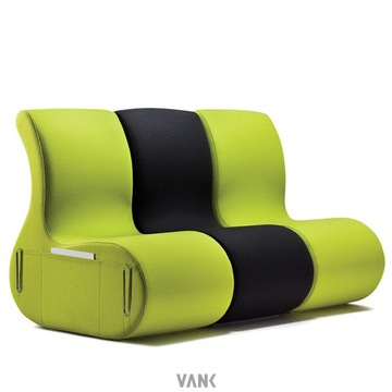 Sofa kanapa Vank = trzy polskie fotele z pianki FV