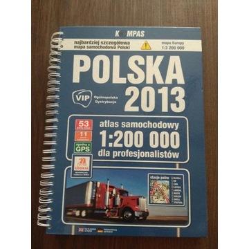 Samochodowy Atlas Polski 2013