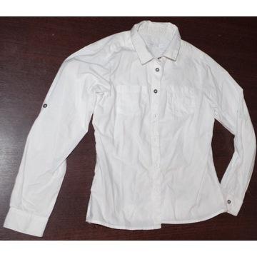 Biała koszula koszulka dla dziewczynki 140 ColClub
