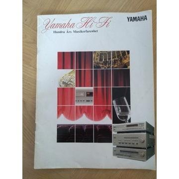 Yamaha Hi-Fi katalog prospekt