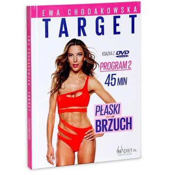 Ewa Chodakowska Target Płaski brzuch DVD)