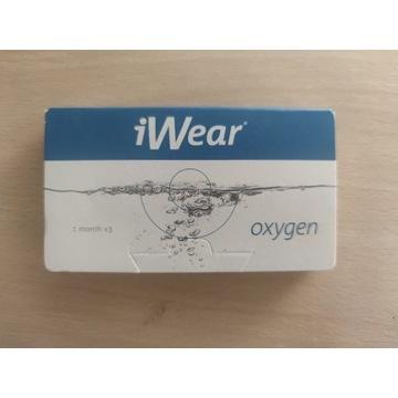 Szkła kontaktowe iWear Oxygen -1 miesiąc [-3.75]
