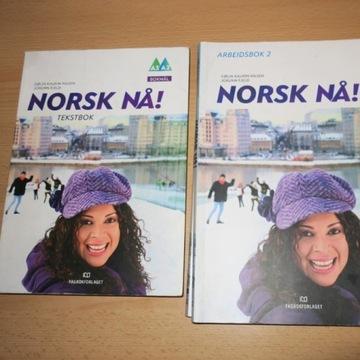 Książka do nauki norweskiego Norsk Na!