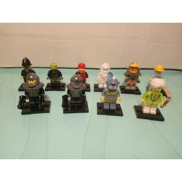 Lego Minifigurki Seria 11 + 12 +13