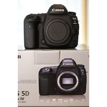 Canon 5d mark IV, 4 - jak nowy, przebieg 11k
