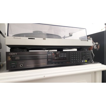 CD SONY CDP 502ES. Piękny Stan. Pilot SONY RM D391