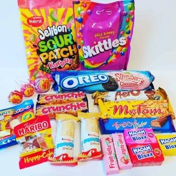 Urodziny Prezent zestaw słodyczy