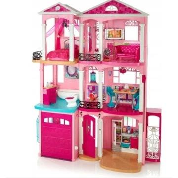 Barbie wielki domek dla lalek z garażem FFY84