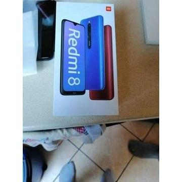 Xiaomi Redmi 8 pełen zestaw