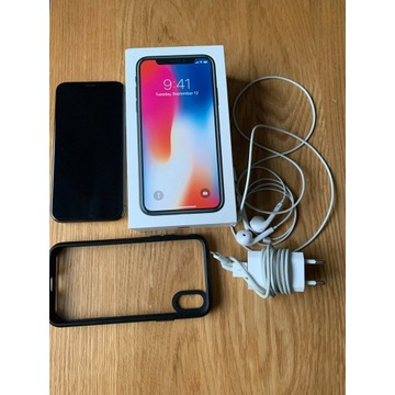 iPhone X 64GB Space Gray. Stan Idealny Warszawa
