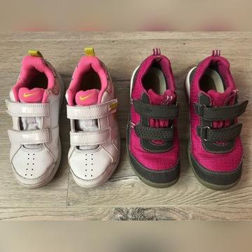 Nike r.29,5 i Superfit GoreTex r.31~dł. wkł. 19cm