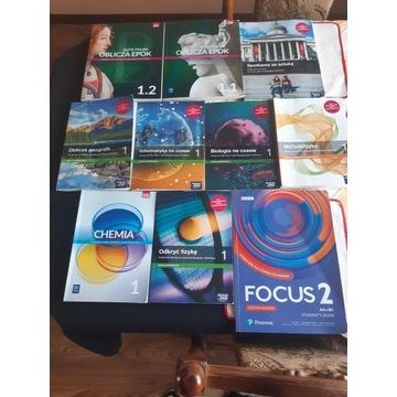 Podręczniki kl. 1 technikum