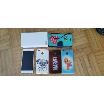 Telefon Xiaomi Redmi 4X 3/32 plus 4x etui